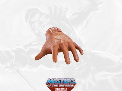 Clamp Champ Hand 2021 Deluxe Masters of the Universe Origins Accessory