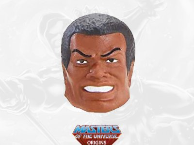 Clamp Champ Head 2021 Deluxe Masters of the Universe Origins Accessory