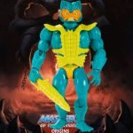 Mer-Man action figure from the Masters of the Universe Origins toy line. Find other figures, weapons, vehicles, and accessories using the Weapons Rack.