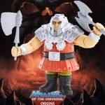Ram Man deluxe action figure from the Masters of the Universe Origins toy line. Find other figures, weapons, vehicles, and accessories using the Weapons Rack.