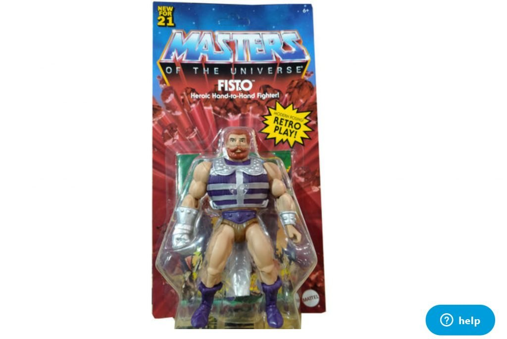 Fisto Masters of the Universe Origins Wave 5 or 6