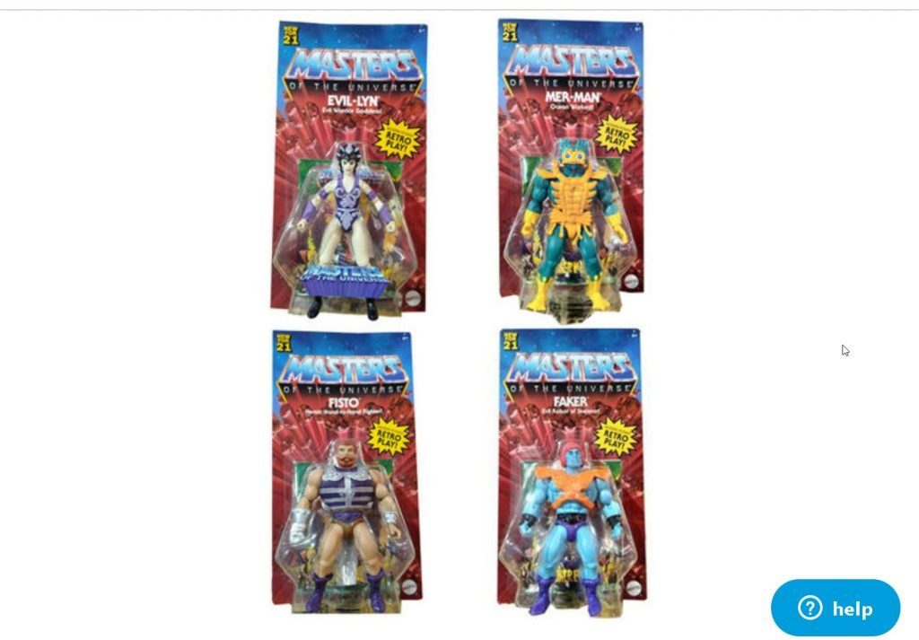 Masters of the Universe Origins Wave 5 or 6