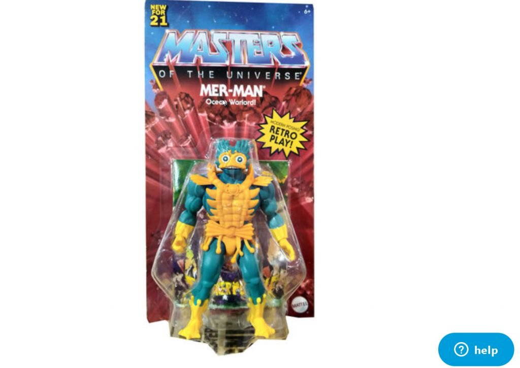 Mer-Man Masters of the Universe Origins Wave 5 or 6
