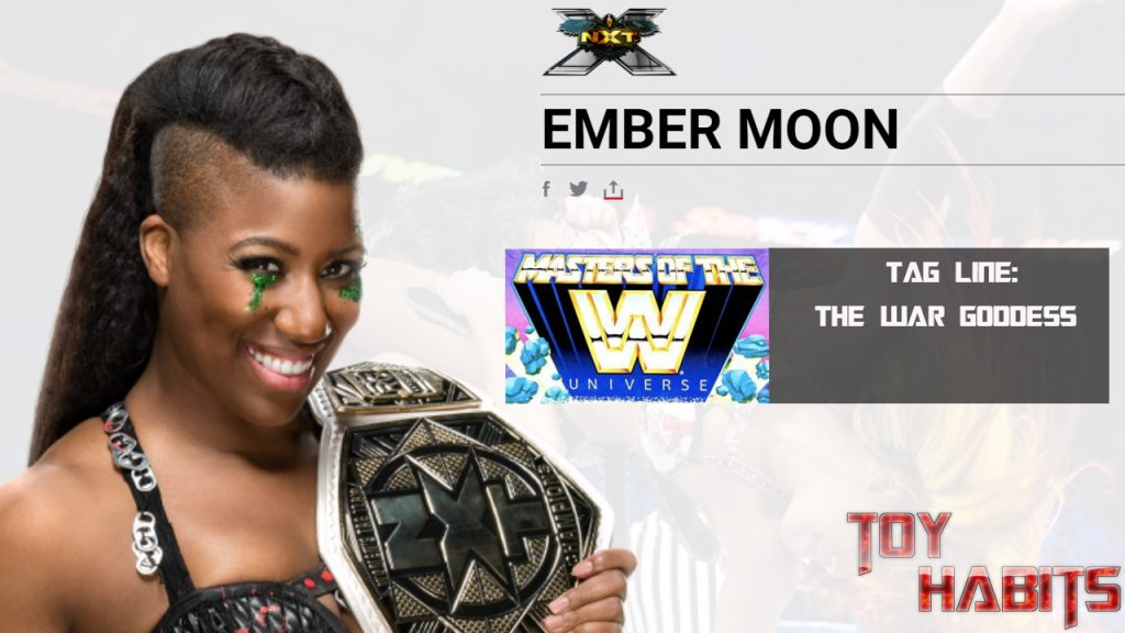 Ember Moon Masters of the WWE Universe Figure Concept