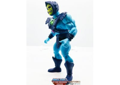 Keldor Skeletor 2021 Masters of the Universe Origins Figure Left View