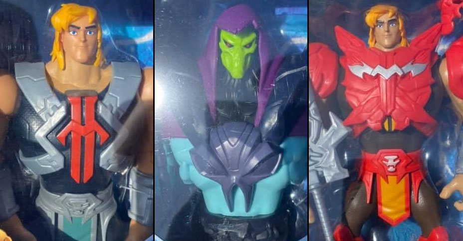Leaked Netflix Masters of the Universe CGI Figures Skeletor He-Man  Battle Armor