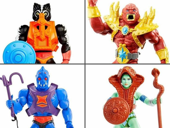 Masters of the Universe Origins Wave 6 Reveal