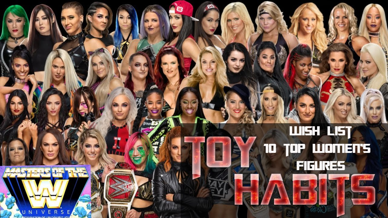 Top 10 Wish List for Masters of the WWE Universe Women's Figures