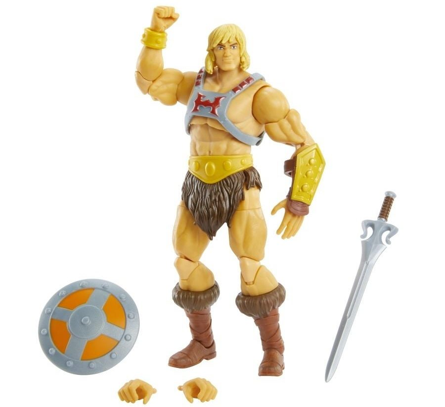 He-Man Masters of the Universe Masterverse He-Man Figure Wave 1
