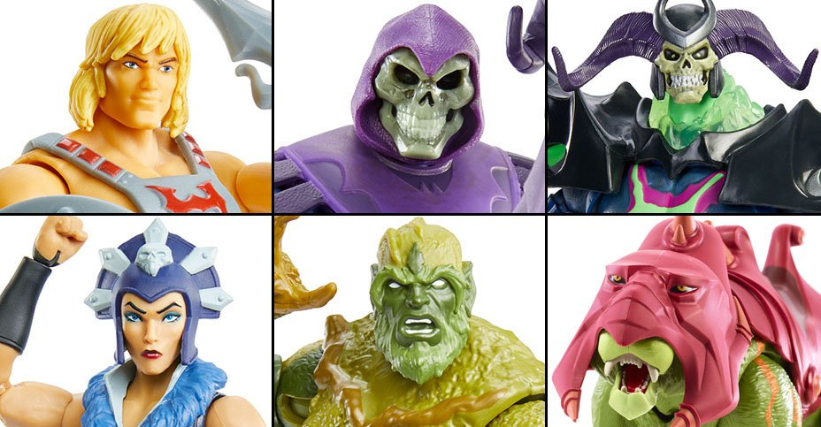 Masters of the Universe Masterverse Wave 1 Figures