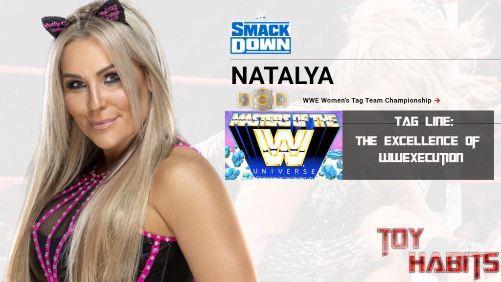 Natalya Rhea Ripley Masters of the WWE Universe Figure Concept