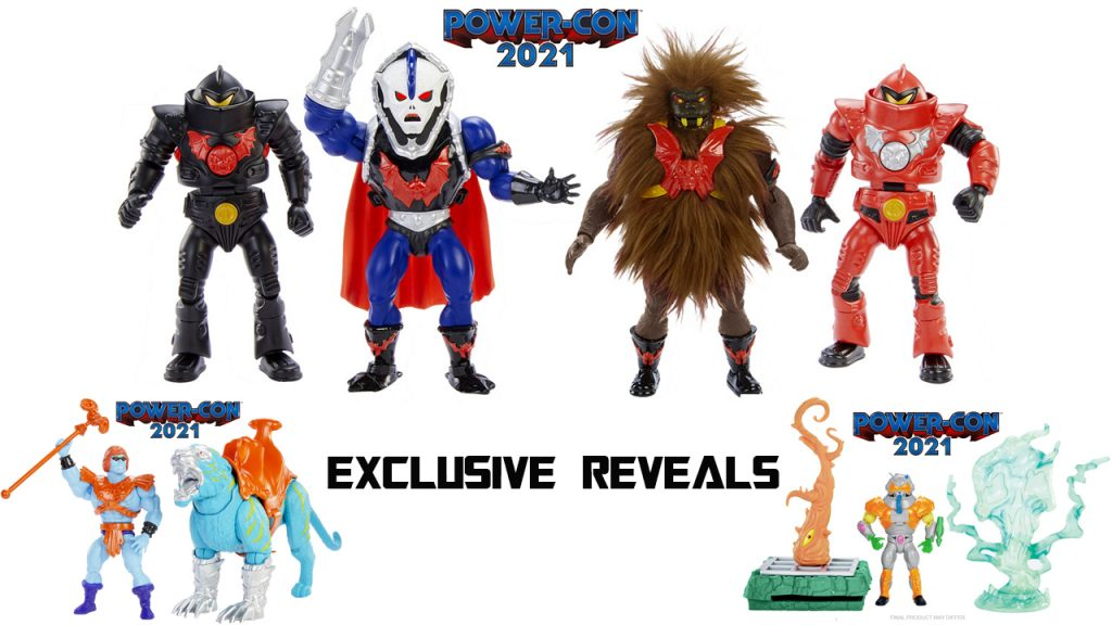 Power Con 2021 Exclusive Masters of the Universe Origins Figures