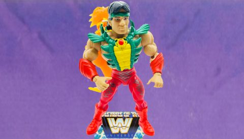 Ricky The Dragon Steamboat 2021 Masters of the WWE Universe Figure