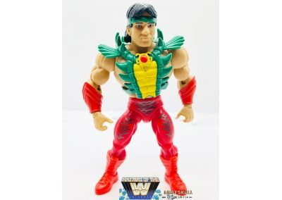 Rickey The Dragon Steamboat Masters of the WWE Universe Figure Front View