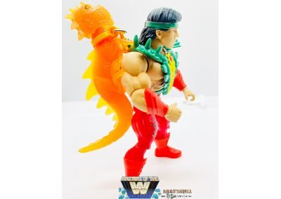 Rickey The Dragon Steamboat Masters of the WWE Universe Figure Geared Up Right View