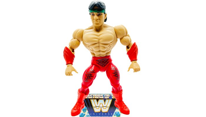 Rickey The Dragon Steamboat Masters of the WWE Universe Figure Sculpt