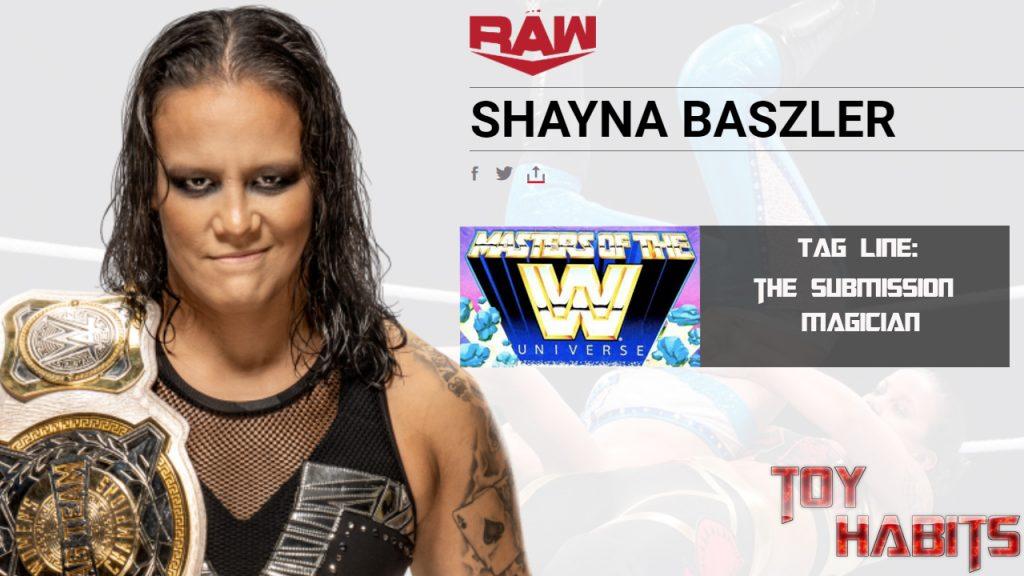 Shayna Baszler Rhea Ripley Masters of the WWE Universe Figure Concept