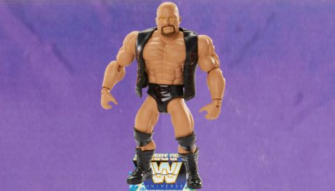 Stone Cold Steve Austin 2020 Masters of the WWE Universe Figure