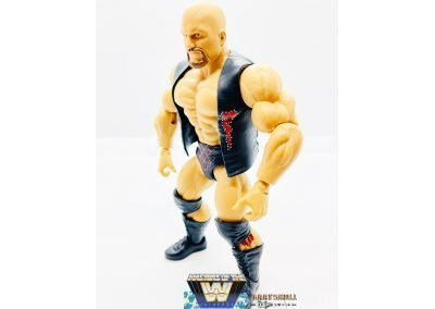Stone Cold Steve Austin Masters of the WWE Universe Figure Left View