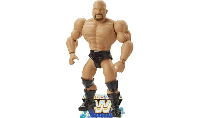 Stone Cold Steve Austin Masters of the WWE Universe Figure Sculpt