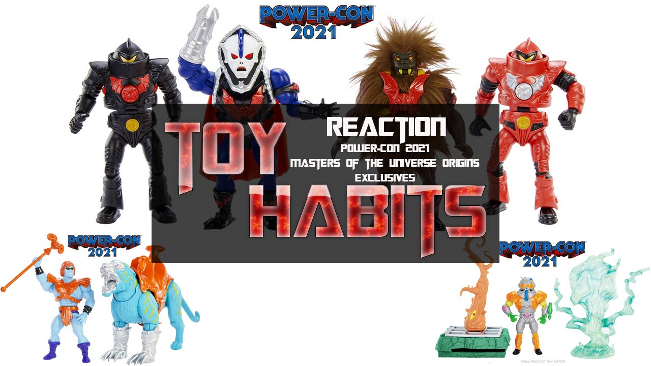 Power Con 2021 Masters of the Universe Origins Exclusive Reaction Video