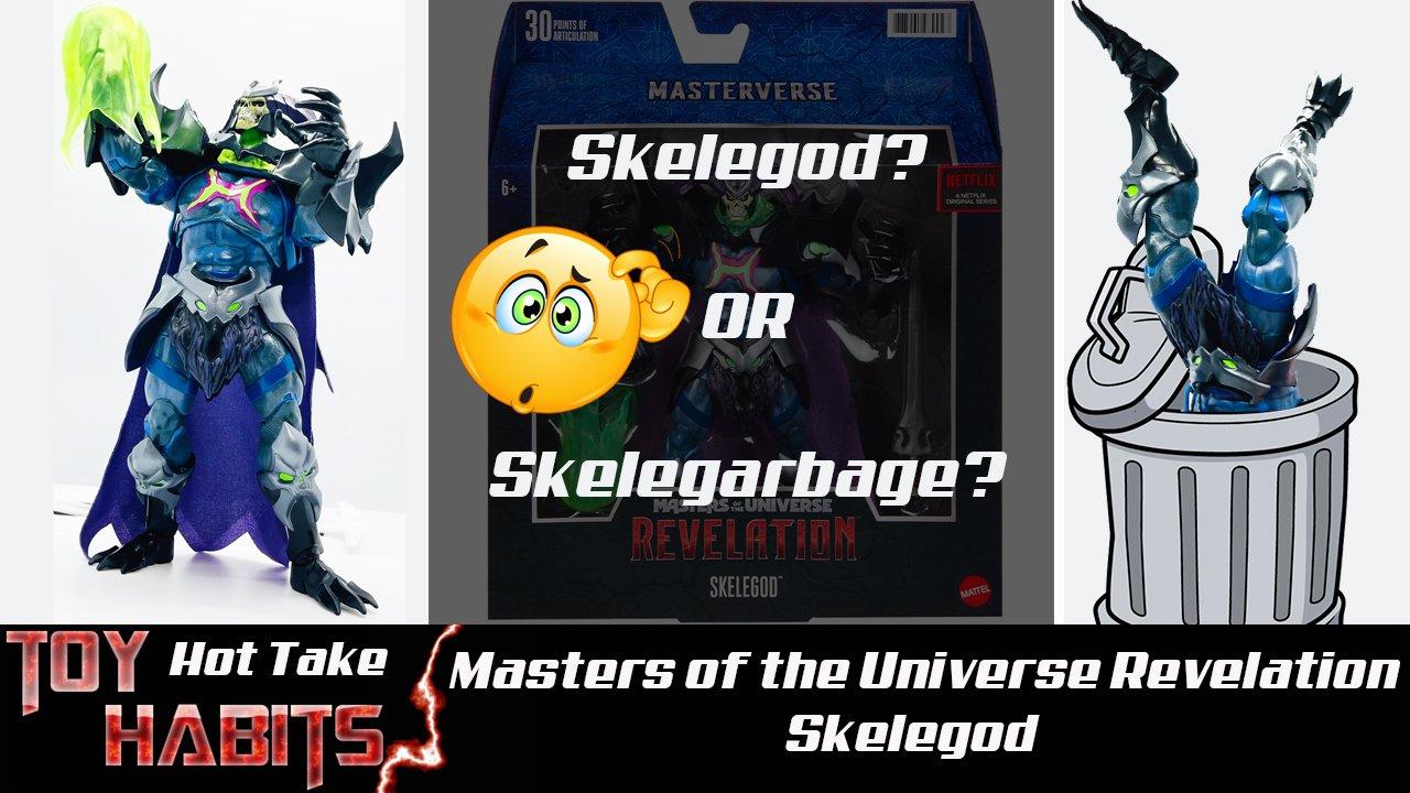 Skelegod Masters of the Universe Revelation Masterverse Review